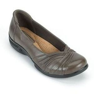 Earth Origins Brandywine Leather Flats Shoes 6.5
